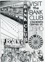 Bank Club ad from UNR yearbook