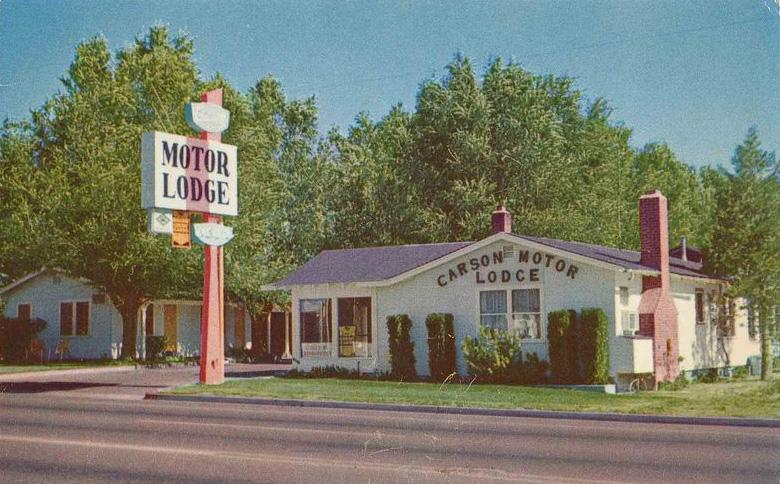 Carson valley motor lodge for Carson valley motor lodge