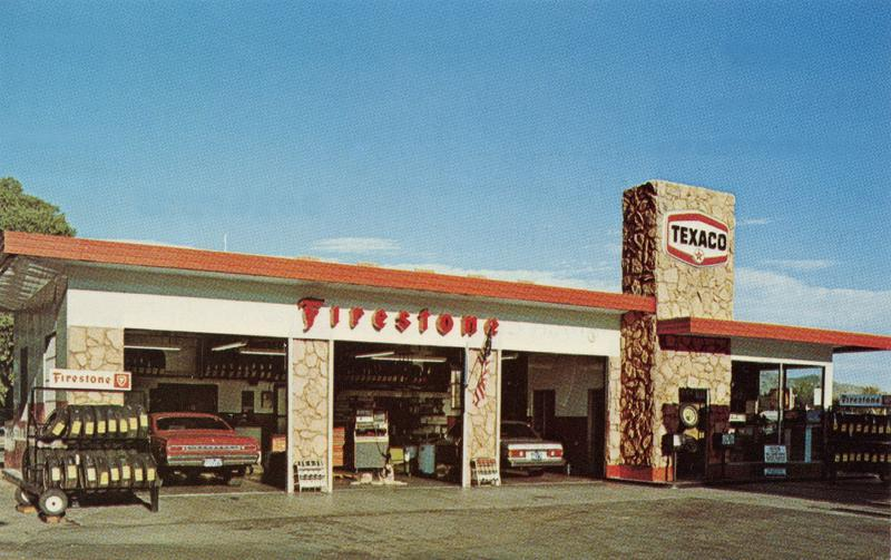 Texaco Gas Station : Photo Details :: The Western Nevada