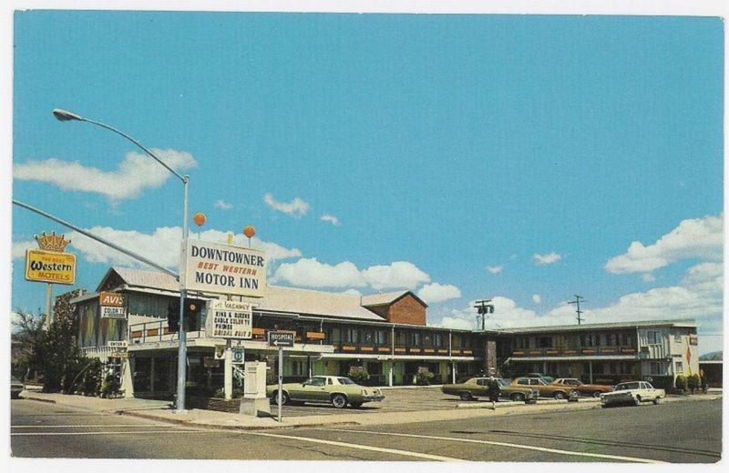 Downtowner motor inn photo details the western nevada for Small car motors carson city nv
