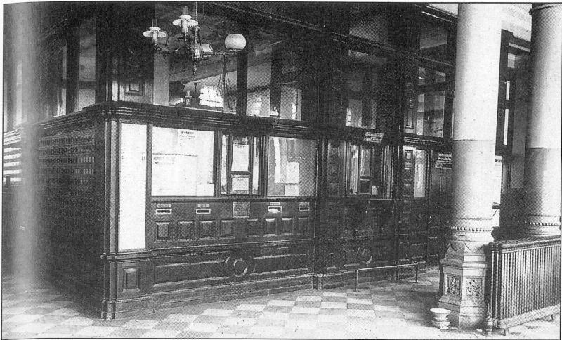 Interior Of The Old Post Office Photo Details The Western Nevada Historic Photo Collection